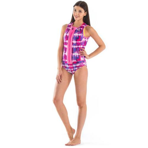 GlideSoul Pink Tie&Dye wakeboardmellény