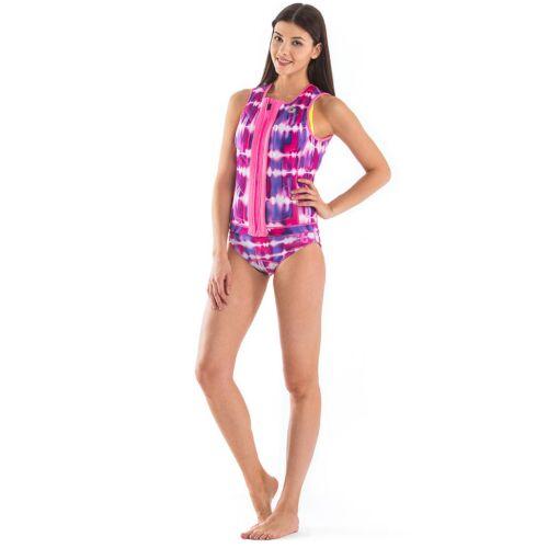 GlideSoul Pink Tie&Dye wakeboard mellény