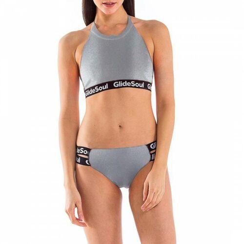 GlideSoul Silver bikini felső