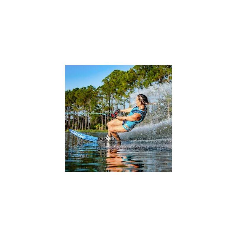 Glidesoul Blue/Bloom Kifordítható wakeboard mellény